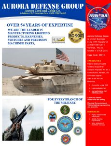 Aurora Defense Group - Brochure