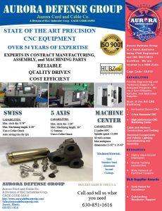 Aurora Defense Group - Precision CNC Ma